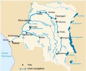 Des inquiétudes sur le dessèchement de la rivière Ubangi au Nord-ouest de la RDC
