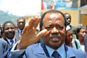 Le président camerounais Paul Biya annonce sa candidature