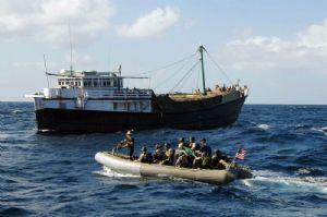 Piraterie : La marine de l'UE secour un navire