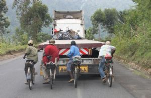 Le calvaire des cyclistes de Bugarama