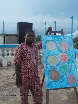 Laté Richard Lawson-Body, ambitieux pour la calligraphie «made in Togo»