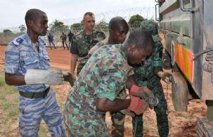 La force Licorne contribue à la formation de l'armée ivoirienne