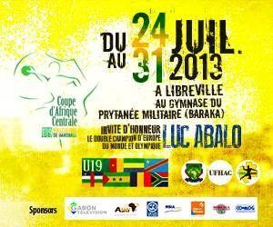 Coupe d'Afrique centrale masculine U19 de handball du 24 au 31 juillet à Libreville