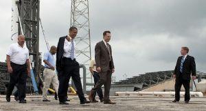 Elon Musk et Barack Obama