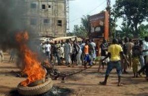 Tension à Bangui à l'occasion d'une journée «ville morte»