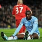 Le milieu de terrain ivoirien de Manchester City, Yaya Touré (AFP)