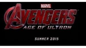 "<strong style=""margin-right:4px;"">CC by Marvel Studios 13 août 2013.</strong>  Logo du film Avengers : The age of Ultron présenté durant le Comic-con 2013"