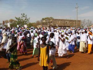 Marche contre l'excision et les mariages forcés à Kolda