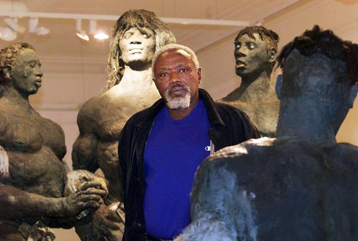 Ousmane Sow, «monument débout dans le Panthéon des grands créateurs», a rejoint Doudou Ndiaye Rose