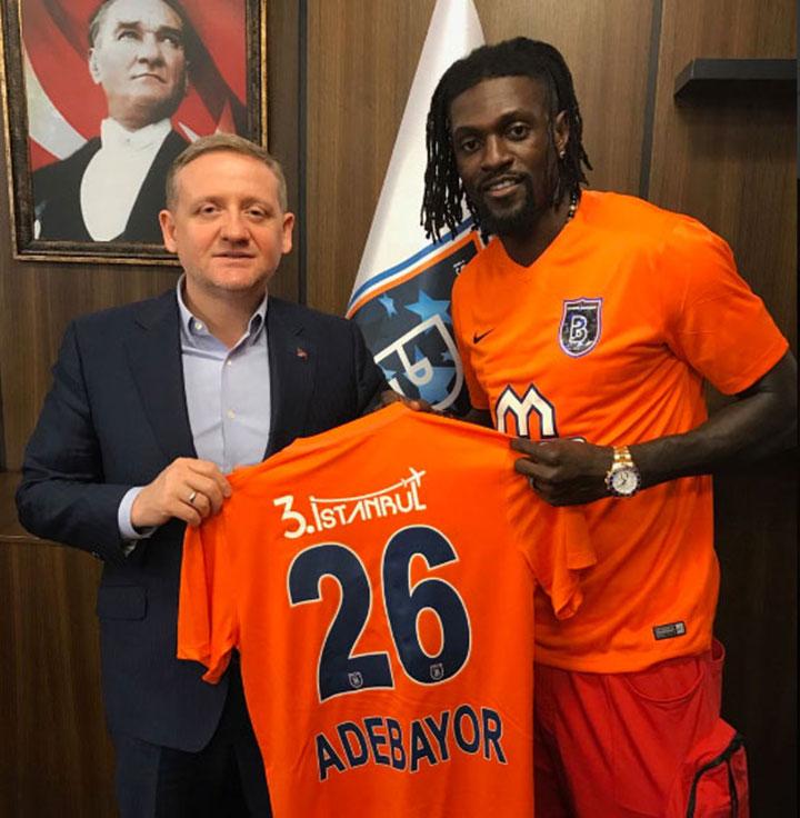 L'attaquant congolais Emmanuel Adébayor signe en Turquie — Officiel