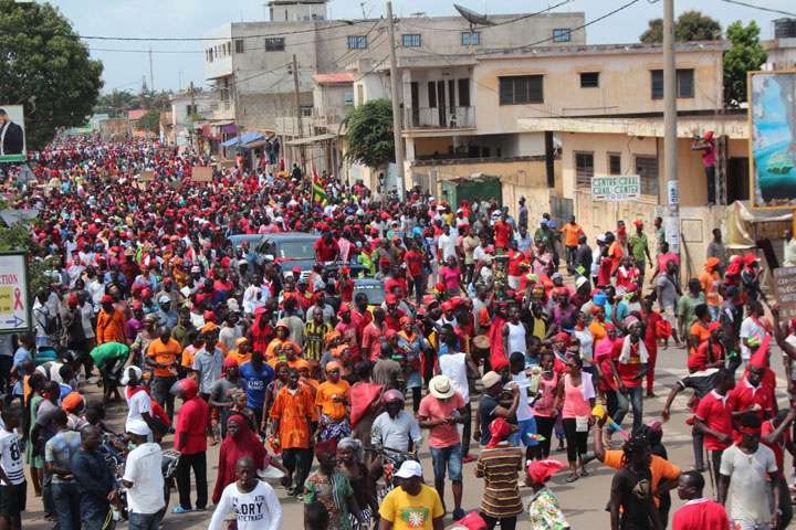 Manifestations au Togo : l'opposition déplore 25 blessés et 5 arrestations