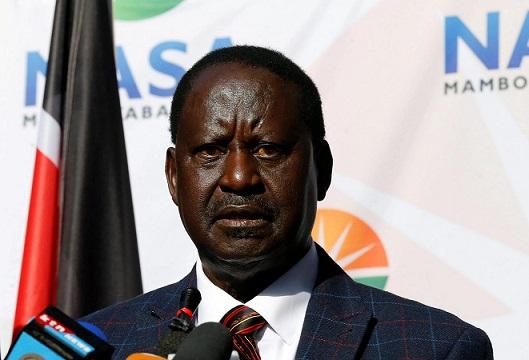 Kenya : Odinga s'oppose à une gouvernance par «les armes»