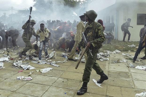 Kenya: investiture ce mardi d'Uhuru Kenyatta dans une atmosphère tendue