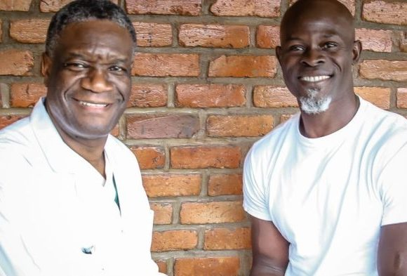 Cinéma : Djimon Hounsou jouera le rôle du Prix Nobel de la Paix 2018, Denis Mukwege