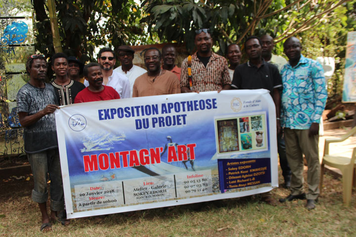 Culture au Togo/Transporter l'art en province : Sokey Edorh innove avec le projet «Montagn'ART»