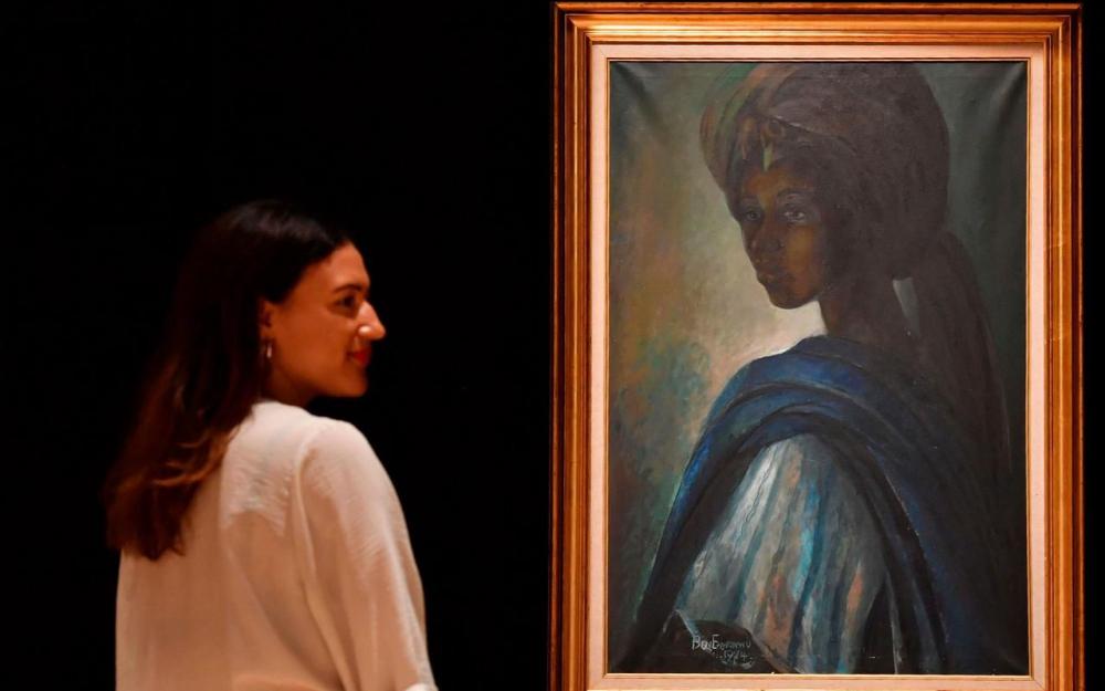 Nigéria : la « Mona Lisa africaine » découverte à Londres vendu à plus de 1.3 millions d'euros