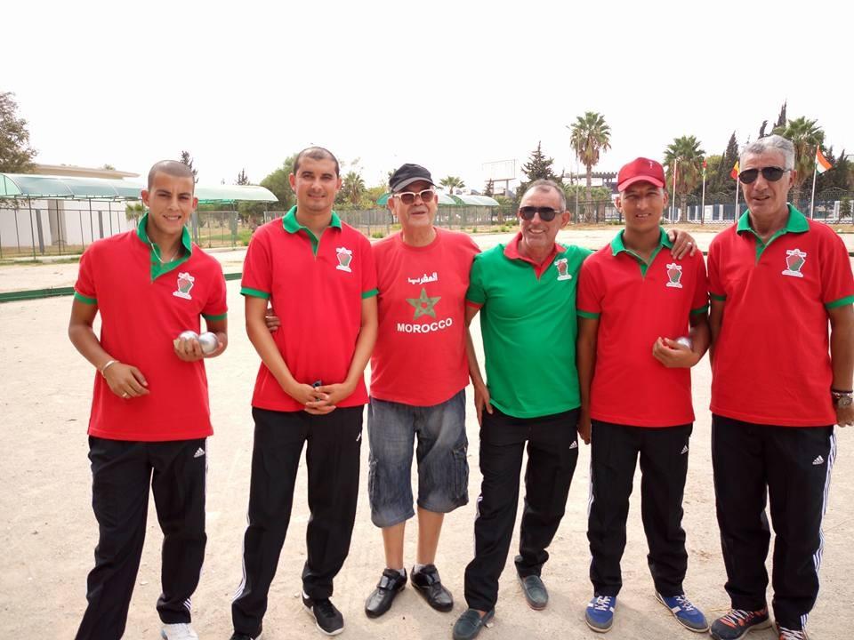 Mondiaux de pétanque : le Maroc s'adjuge la médaille d'argent au Québec