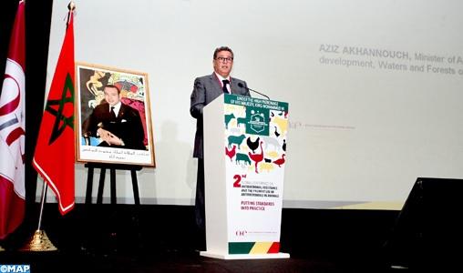 OIE: ouverture ce lundi à Marrakech de la 2ème conférence mondiale sur la résistance aux antimicrobiens