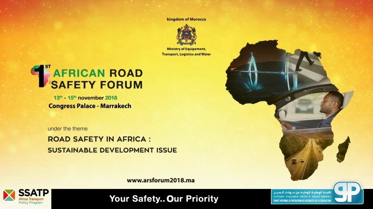 Sécurité routière en Afrique: Marrakech abrite le tout premier Forum continental