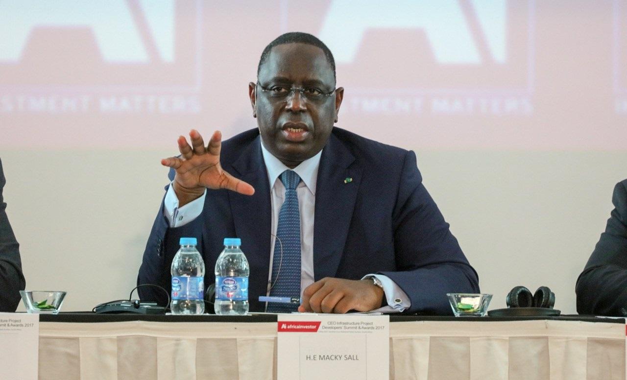Sénégal : le président Sall investi par sa coalition pour la présidentielle de février 2019