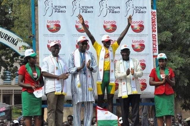 Tour du Faso 2018: le burkinabé Mathias Sorgho s'offre la 31ème édition