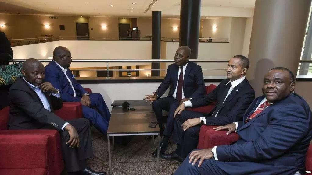 RDC-Opposition: Katumbi, Bemba et Muzito ne lâcheront pas le candidat Martin Fayulu