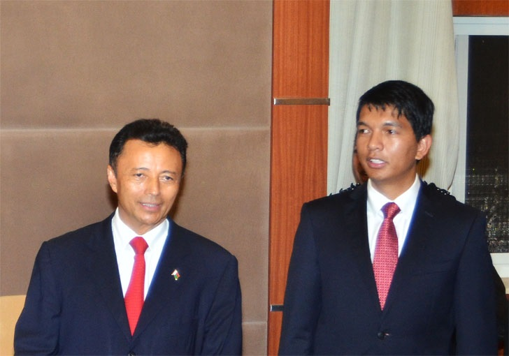 Madagascar-Résultats partiels: Rajoelina et Ravalomanana se tiennent dans un mouchoir de poche
