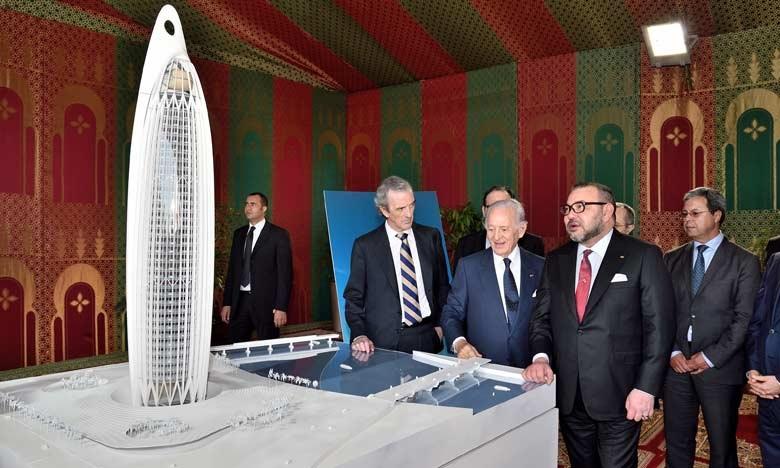 Infrastructures: la «Tour Mohammed VI» sera la plus haute d'Afrique