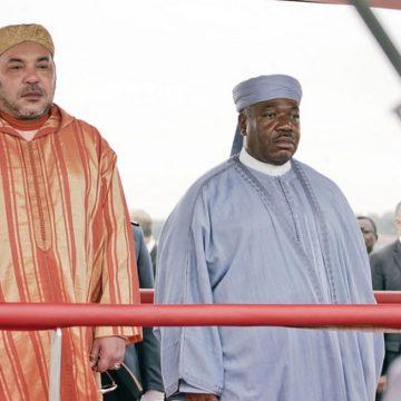 Gabon-Maroc: Mohammed VI a rendu visite ce lundi à Ali Bongo en convalescence à Rabat