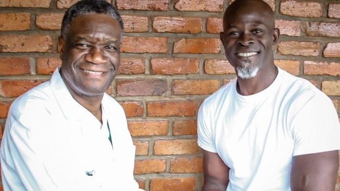 Cinéma :Djimon Hounsou jouera le rôle du Prix Nobel de la Paix 2018, Denis Mukwege