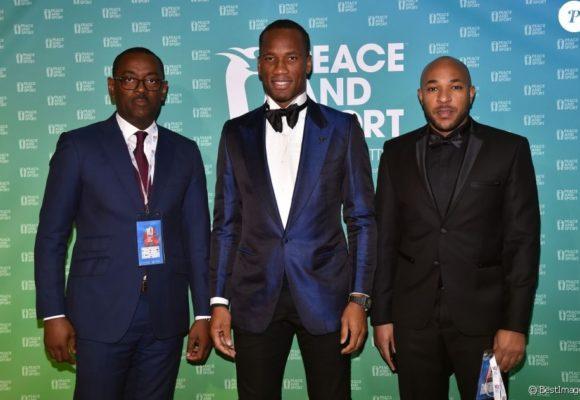 Humanitaire: Didier Drogba devient vice-président de Peace and Sport et réaffirme son engagement pour la paix