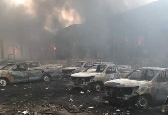 Incendie à Kinshasa: du matériel électoral détruit dans le dépôt principal de la CENI