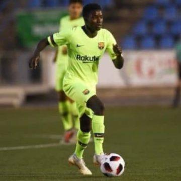 Football/ FC Barcelone: l'international sénégalais Moussa Wagué intègre l'équipe A dès le 1er janvier