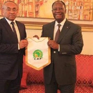 CAN 2021-CAN 2023 : Ahmad Ahmad en tête-à-tête ce mardi avec Alassane Ouattara