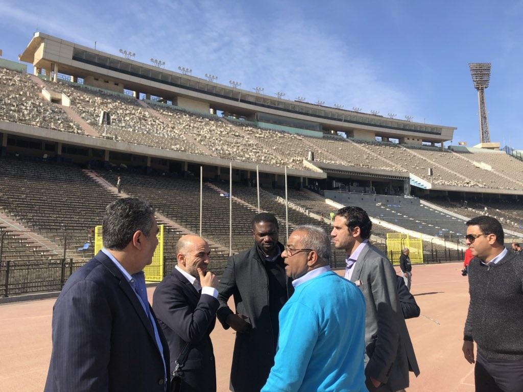 CAN 2019 : début des visites d'inspection dans les villes hôtes