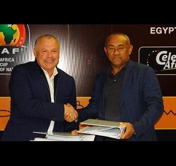 CAN 2019 : signature officielle de l'Accord-cadre entre Le Caire et la CAF