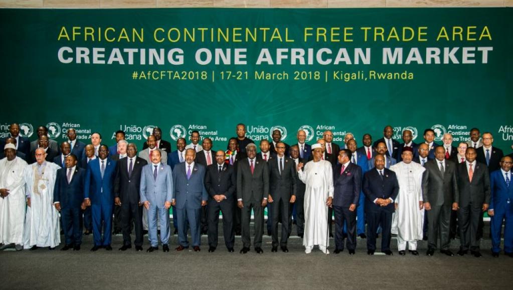 Le président de l'UA encourage les Etats africains à accroître leurs efforts pour la mise en place la zone de libre-échange continentale