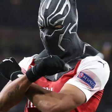 Ligue Europa : Double buteur face à Rennes, Aubameyang fait un clin d'œil à la sélection gabonaise
