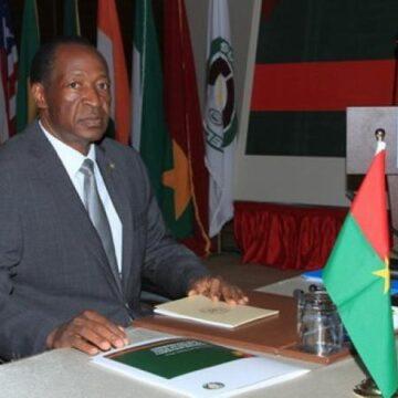 Contribution à la paix et à la stabilité : Blaise Compaoré a écrit au président du Burkina Faso