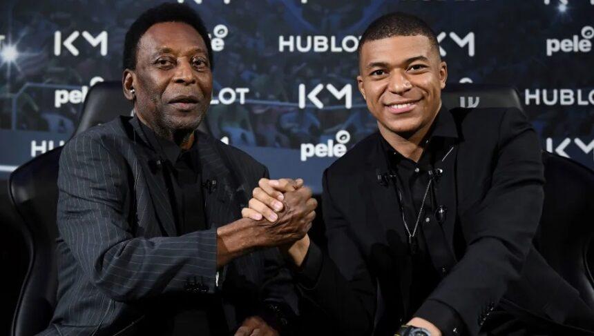 La légende brésilienne Pelé hospitalisée à Paris