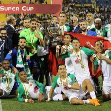 Football : le Raja Casablanca s'adjuge la Supercoupe de la CAF à Doha