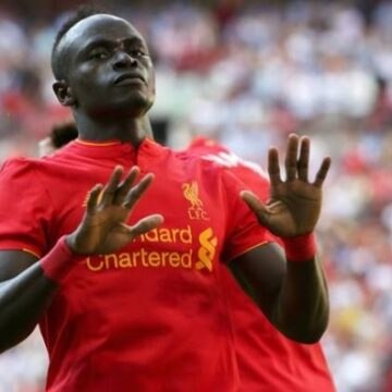 Football : Sadio Mané intègre le top 3 des meilleurs scorers africains en C1