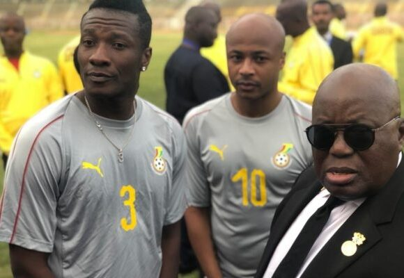 Intervention de Nana Akufo-Addo : Asamoah Gyan rejoint les Black Stars pour la CAN 2019