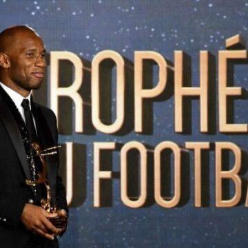 Trophées UNFP : Didier Drogba honoré pour son engagement pour la cause de la jeunesse africaine