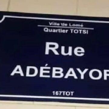 Carrière : la Ville de Lomé honore Adébayor en baptisant une rue à son nom