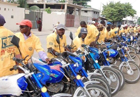 Vogue des applications pour encadrer des taxi-motos en Afrique de l'ouest